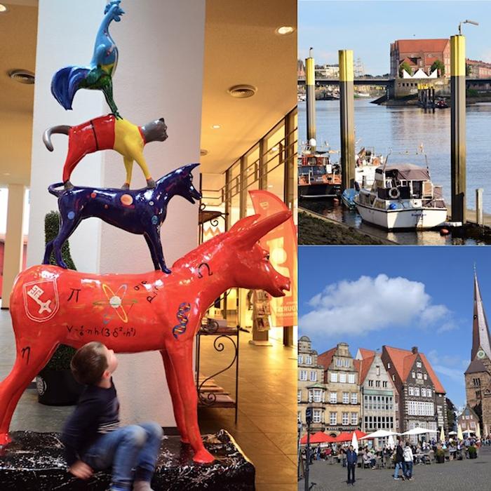 Bremen erleben - Collage