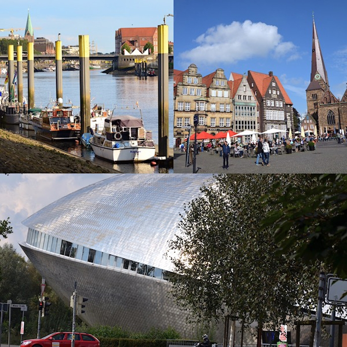 Bremen - Universum - Collage