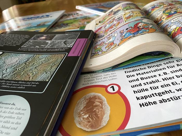 Bücher tauschen während des Lockdown