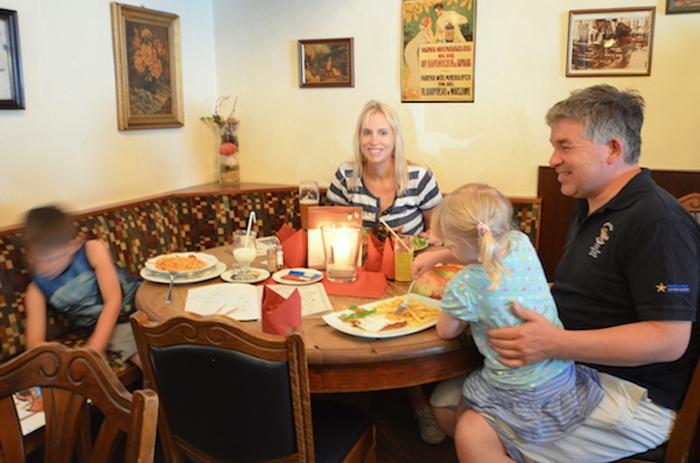 Restaurant Don Camillo mit Kindern