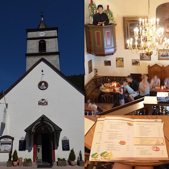 Don Camillo - Restaurant - ehemalige Kirche