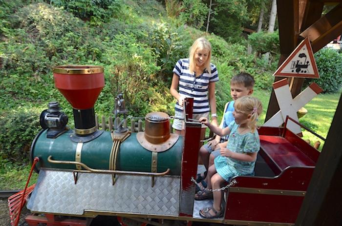 Parkeisenbahn im Wildpark Willingen
