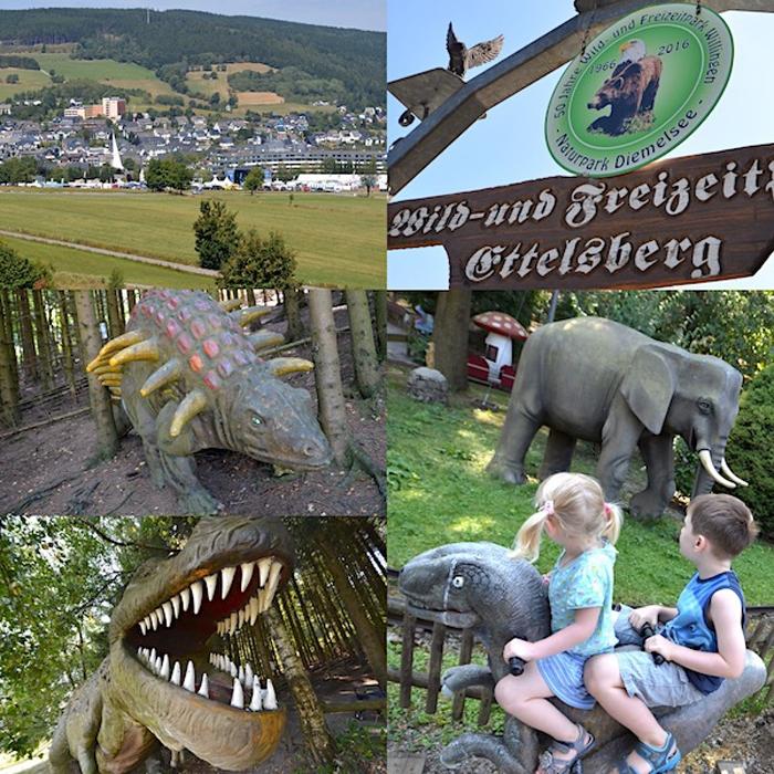 Wild- und Freizeitpark Ettelsberg - Collage