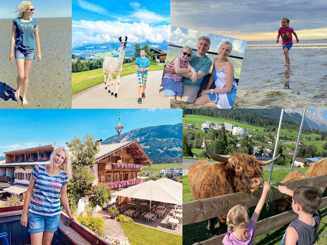 Berge oder Meer - Elischeba Wilde & Family - Collage
