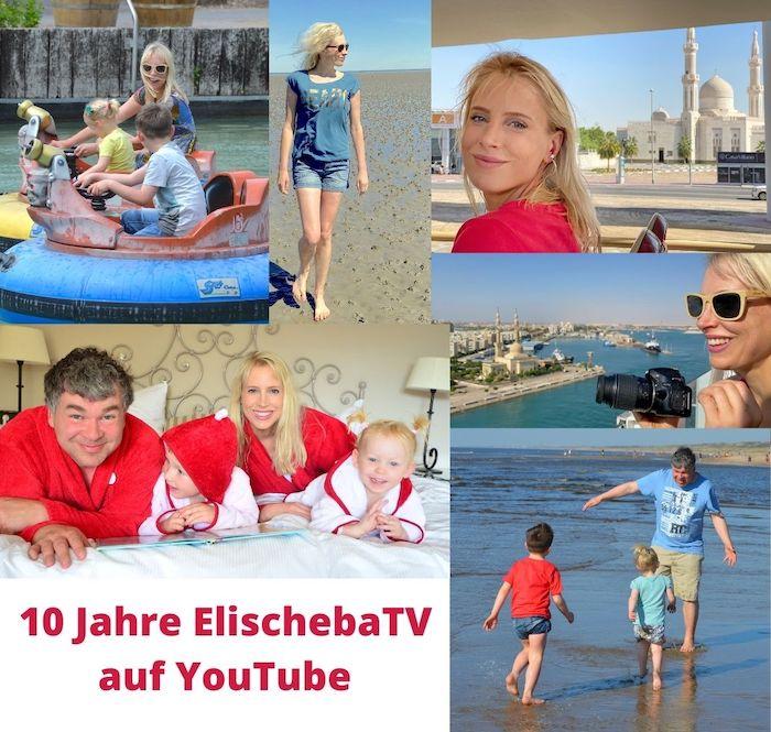 10 Jahre ElischebaTV auf YouTube - Collage