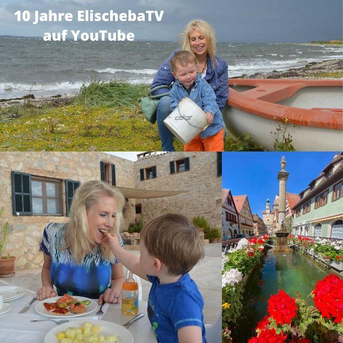 10 Jahre ElischebaTV bei YouTube - Collage