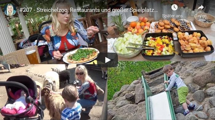 ElischebaTV_207 Streichelzoo Restaurants und großer Spielplatz im Center Parc Bispinger Heide