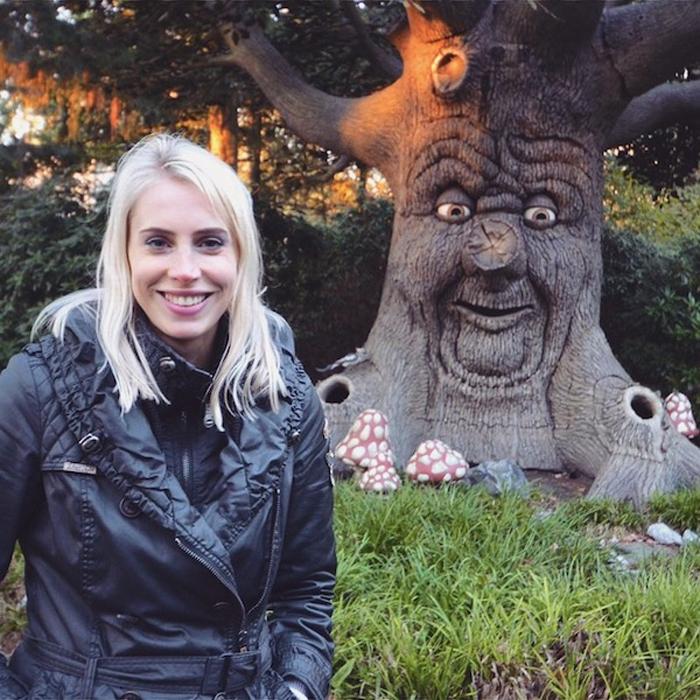 der sprechende Baum in Efteling - Elischeba Wilde