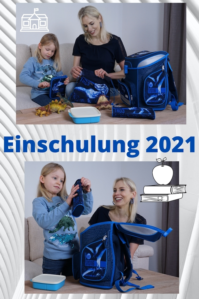 Einschulung 2021 - Collage - Elischeba und Emily