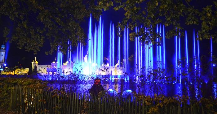 Lichterspiel in Efteling