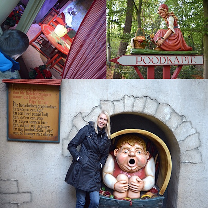 Märchenwald in Efteling - Elischeba Wilde - Collage