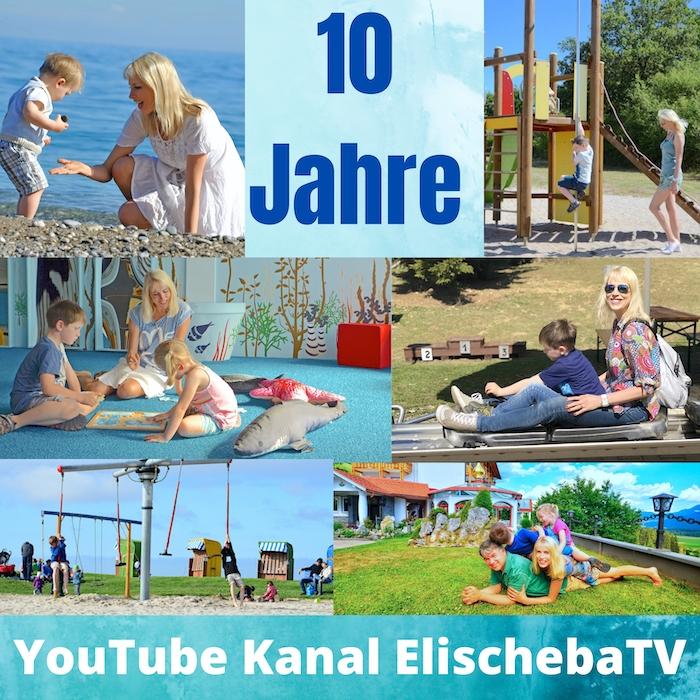 10 Jahre YouTube Kanal ElischebaTV – <div>Folge 353 ist online gegangen</div>