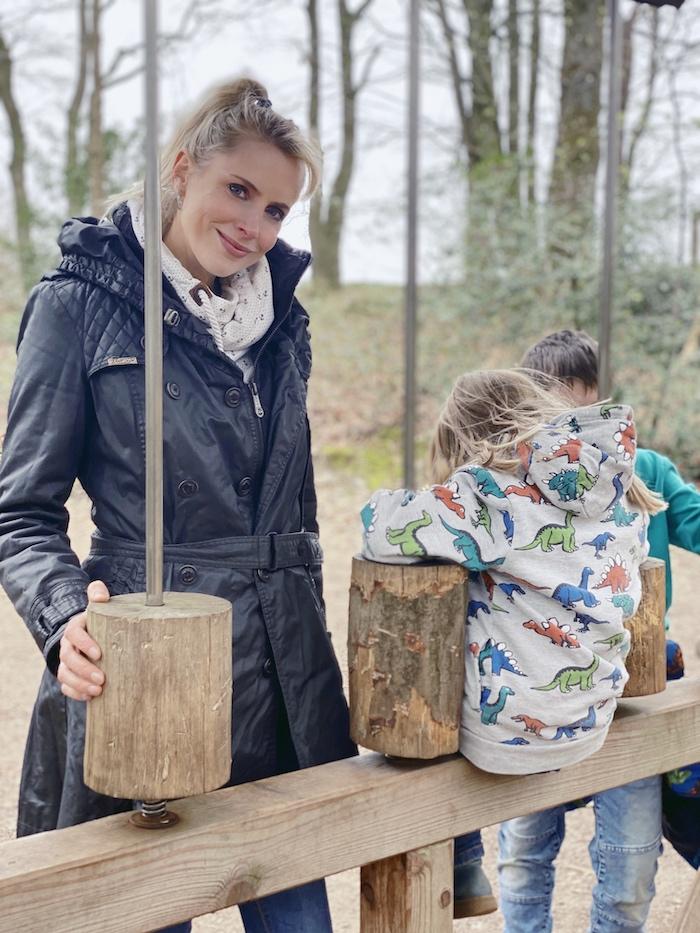 Ausflugstipp für Familien im Münsterland: <div>Der Niedrigseilgarten Reken – Eintritt frei</div>
