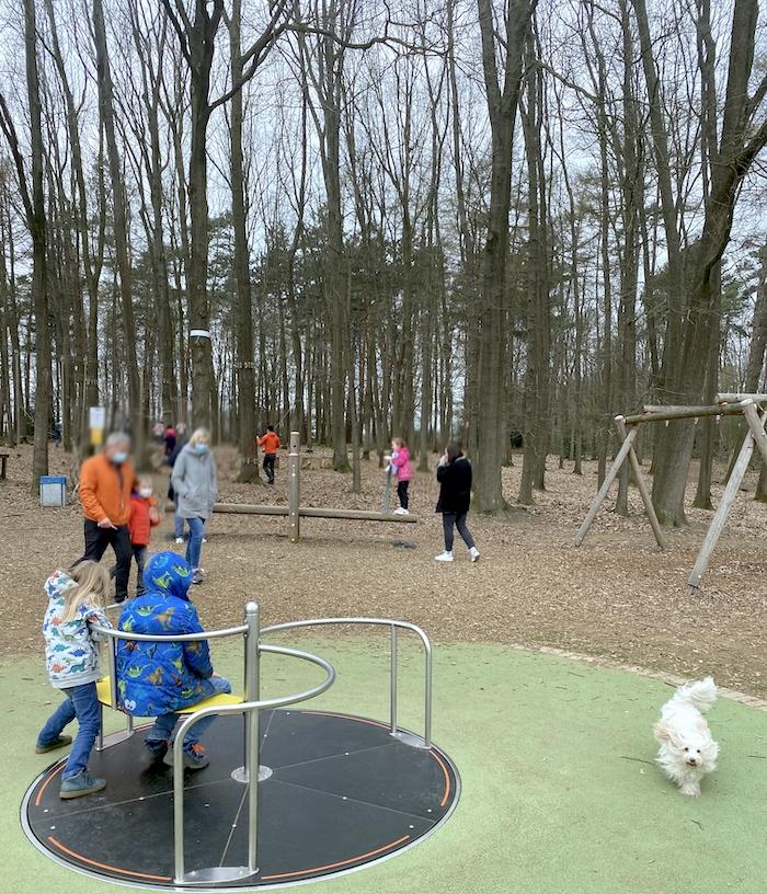Spielplatz im Niedrigseilgarten Reken