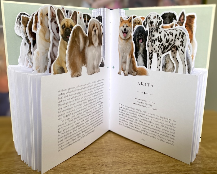 Hundebuch mit 50 Rassen