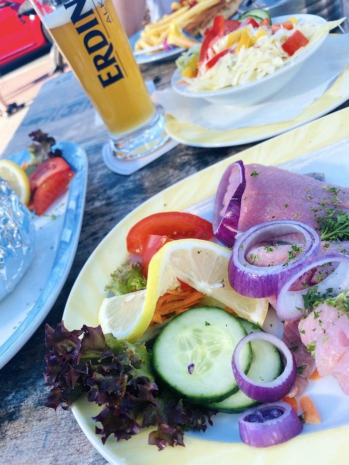 Restaurant in Bensersiel - Fischspezialitäten
