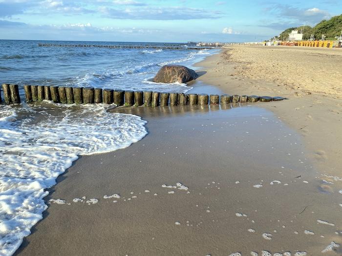 Strand von Kühlungsborn
