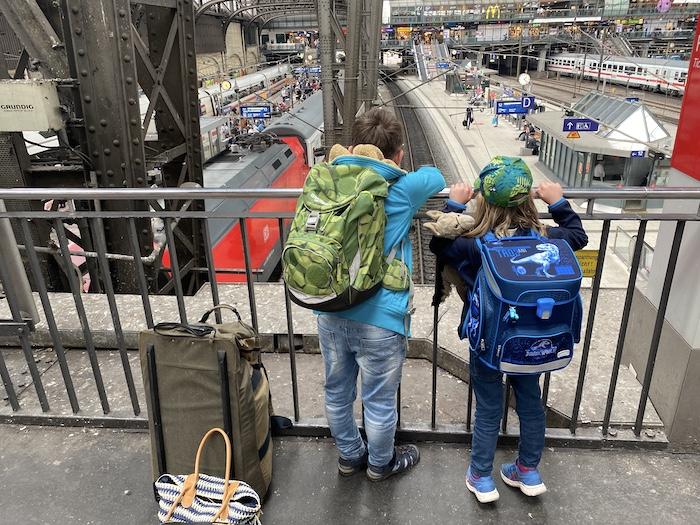 Hamburg Bahnhof - auf dem Weg zur Mutter-Kind-Kur