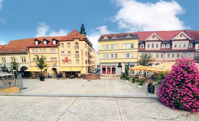 Marktplatz von Sondershausen