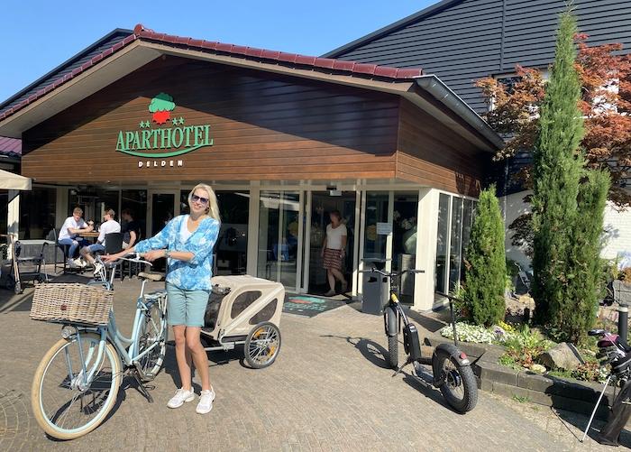 Aparthotel Delden mit Fahrrad - Elischeba Wilde