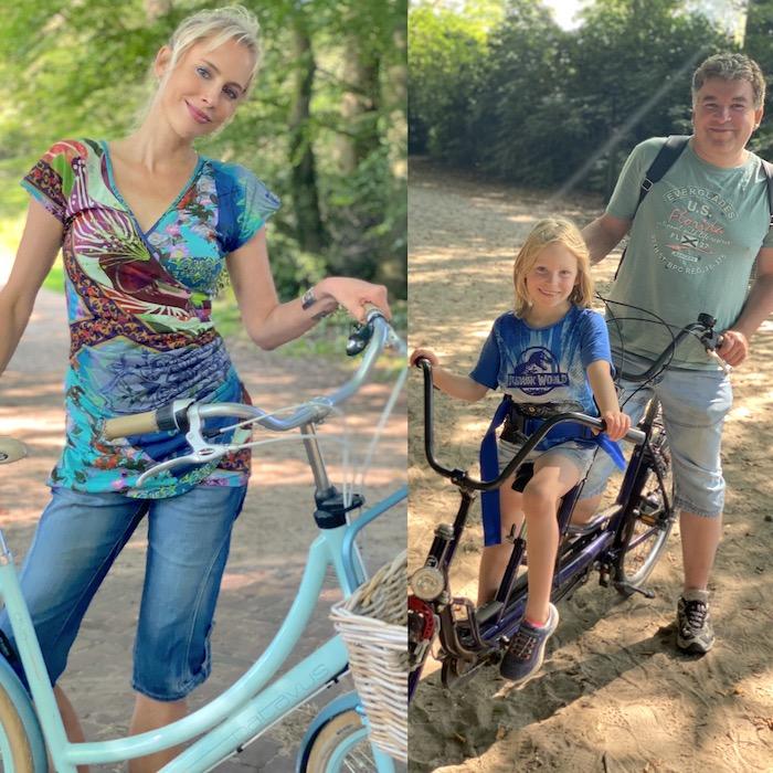 Holland Fahrrad in Delden - Family Wilde
