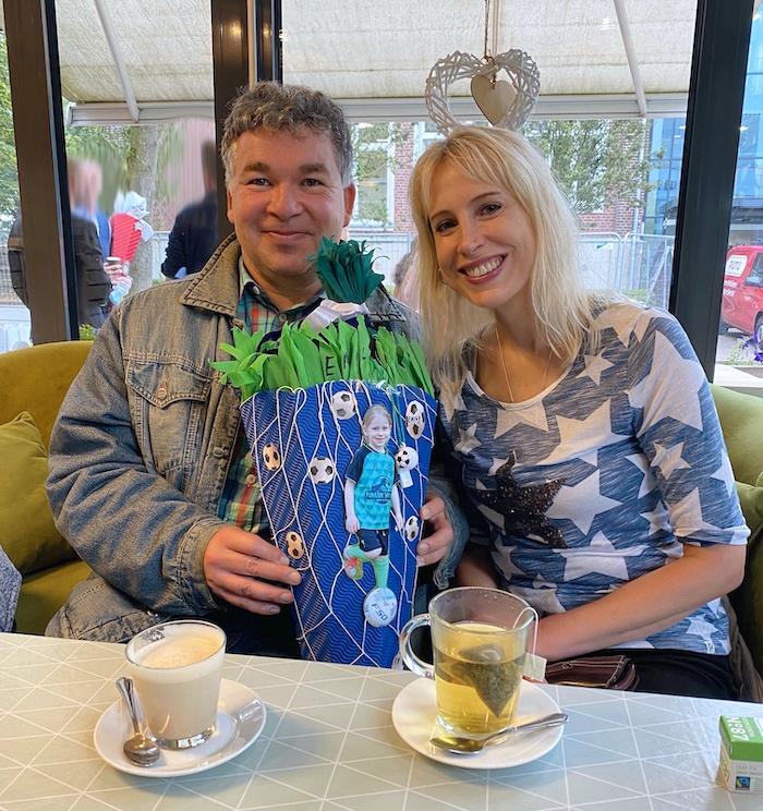 irisches Cafe in Gescher - Elischeba und Pierre Wilde