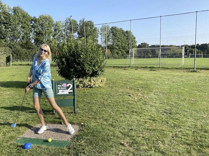 Scuba Golf im Aparthotel Delden - Elischeba Wilde