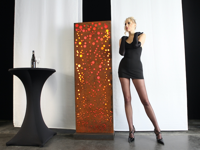 Nylon Glamour-Modeshooting und <div>die Geschichte der Strumpfhosen</div>