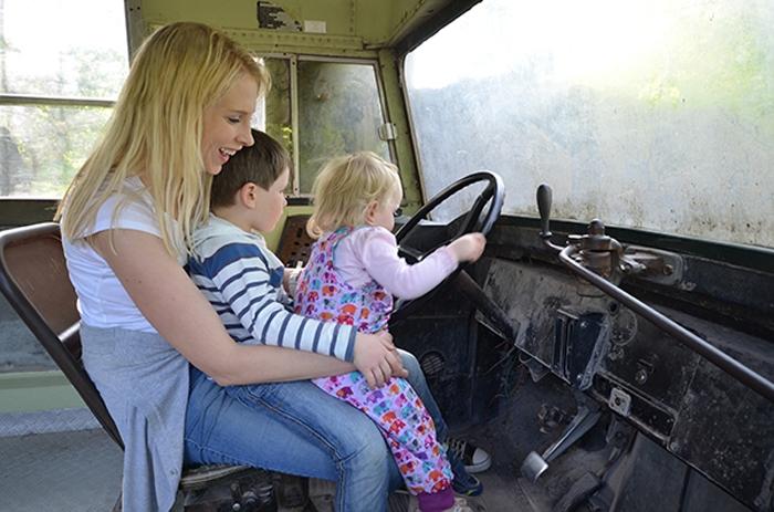 Truck - Elischeba mit Kids